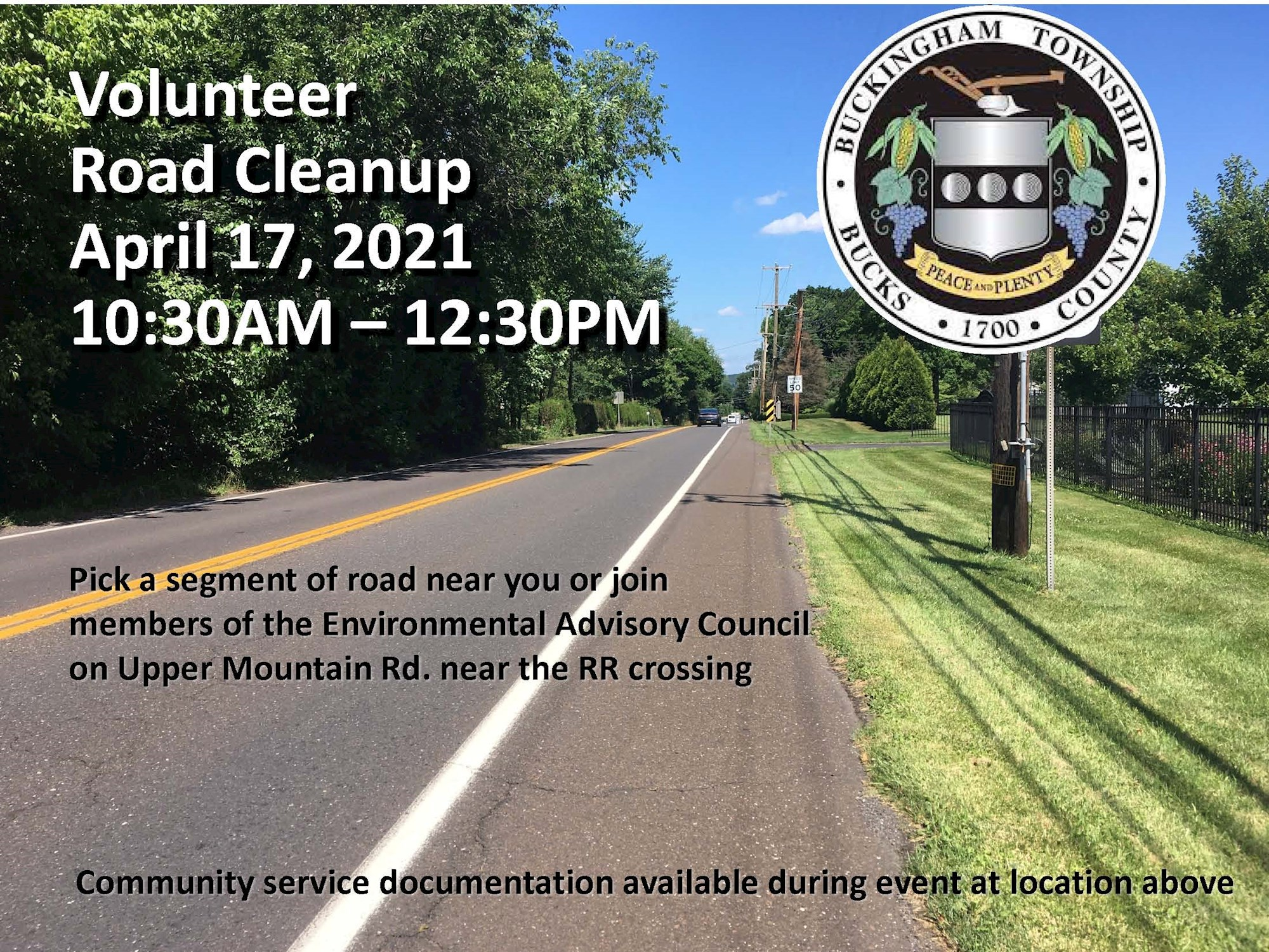 2021 EAC Road Cleanup Flyer